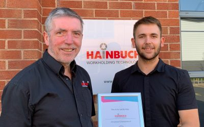 Hainbuch UK takes on Apprentice Technical Sales Engineer via Next Gen Makers & South Staffs College