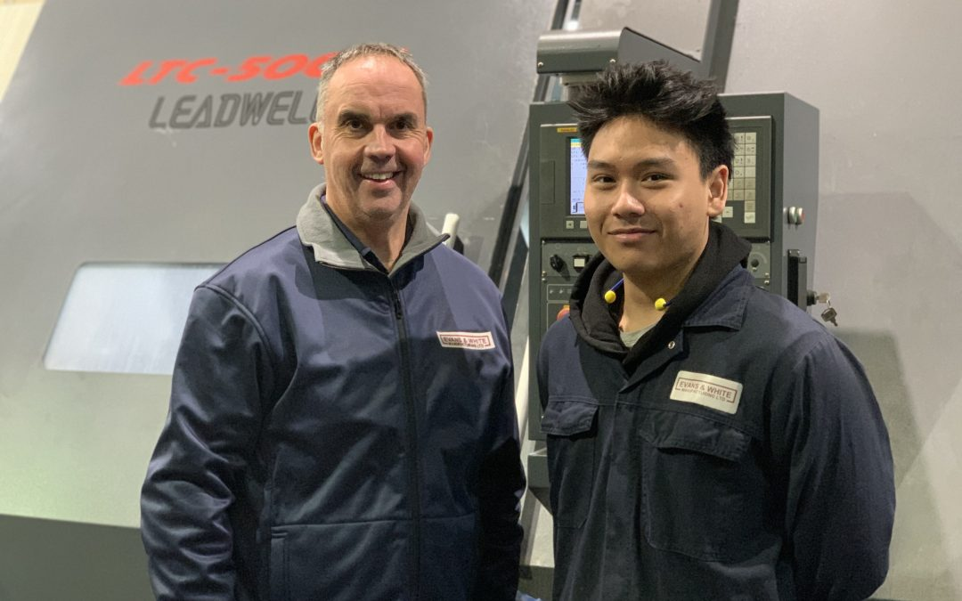 Evans and White manufacturing take on Apprentice via Next Gen Makers
