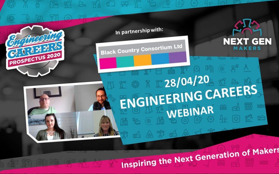 First ever Next Gen Makers Engineering Careers Webinar is a hit