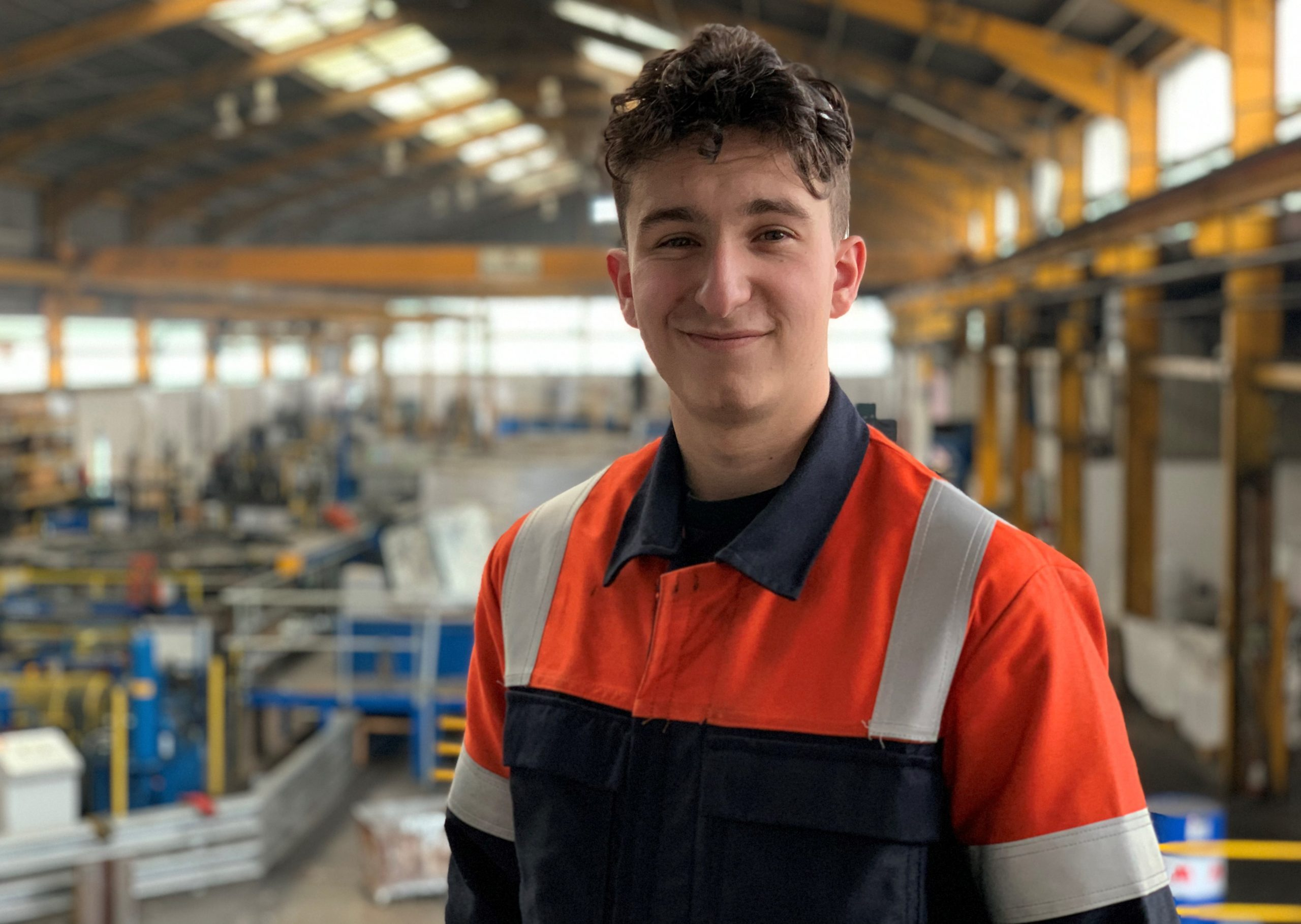 Matt Jones, REAZN UK Quality Engineer Apprentice