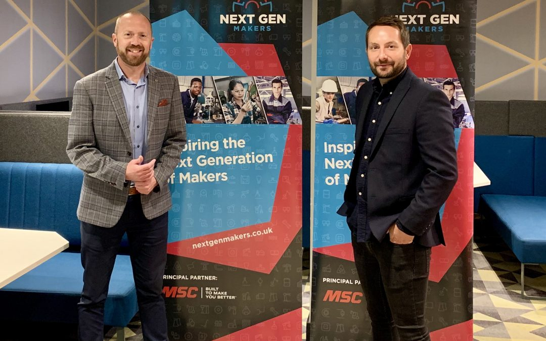 Next Gen Makers expands into North Staffordshire with MSC Industrial Supply UK