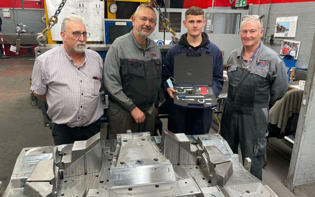 HCM Engineering new Apprentice Jamie Bedall